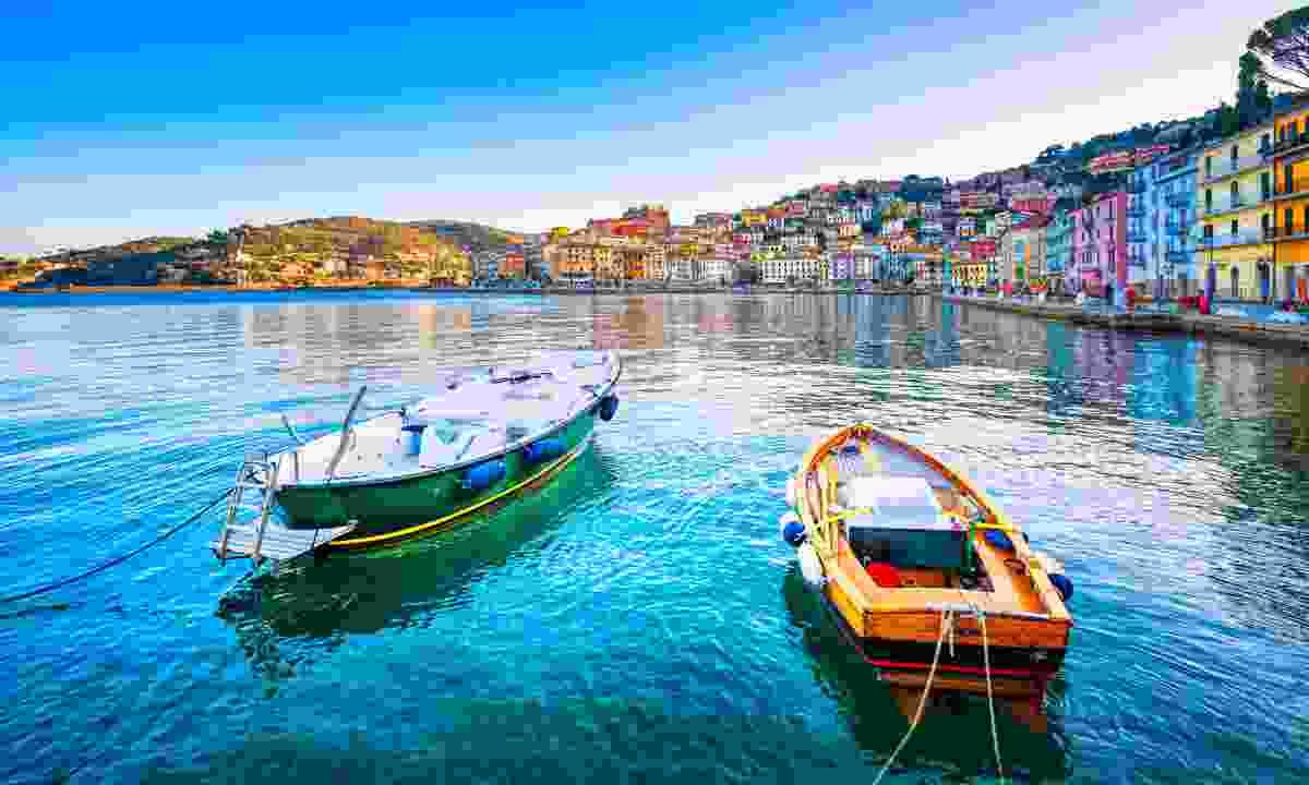 Porto Santo Stefano seafront (Dreamstime)