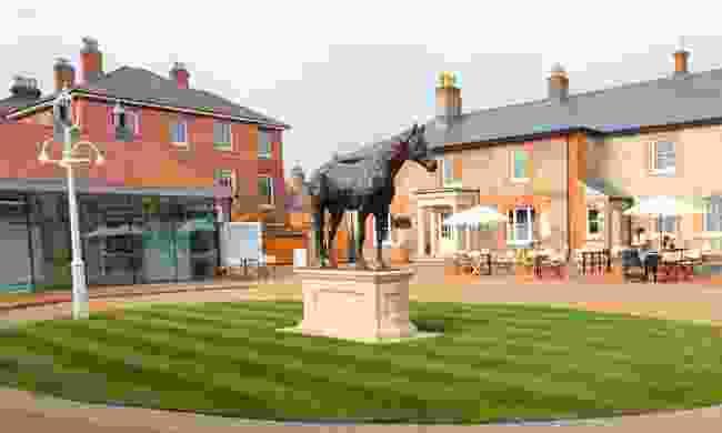 King's Yard and Frankel (National Horseracing Museum)