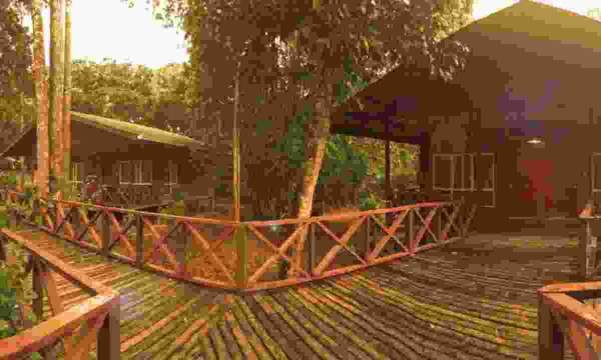 A lodge in the jungle (Borneo Nature Lodge)