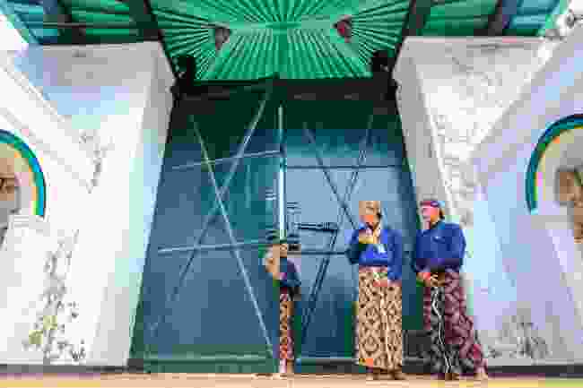 Royal guard at the Kraton in Yogyakarta (Shutterstock)