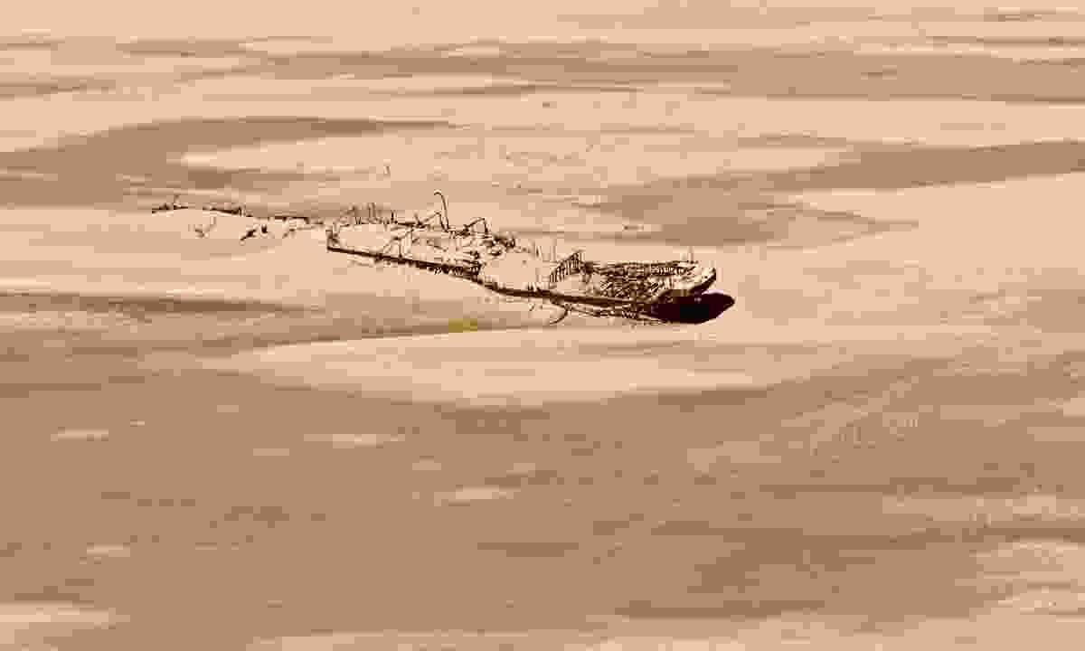 The wreck of Eduard Bohlen on Namibia's Skeleton Coast (Shutterstock)