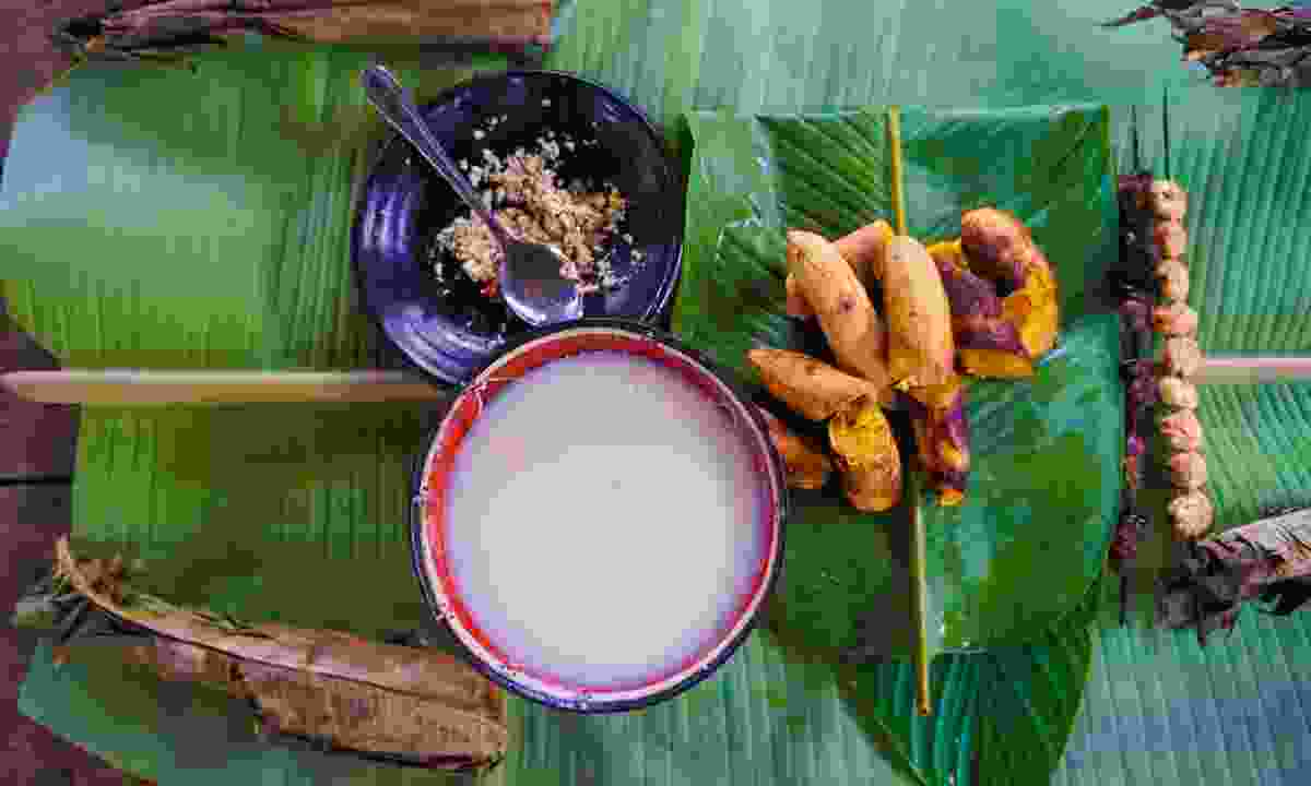 Traditional Amazonian food in Yasuni National Park (Shutterstock)