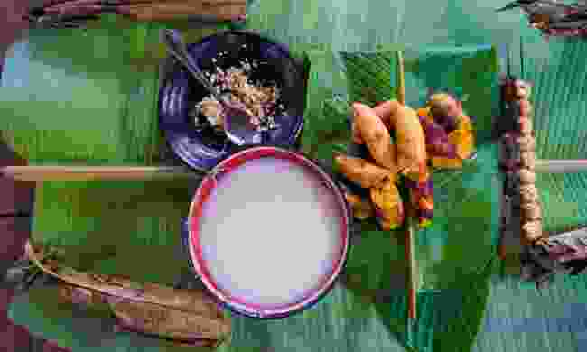 Traditional Amazonian food in Yasuni National Park (Shutterstock)