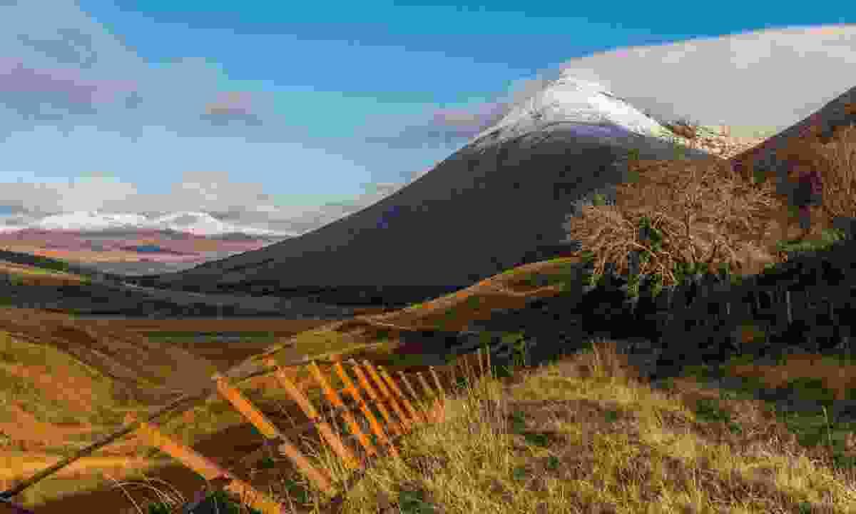 The snowy peak of Beinn Dorain, just north of Tyndrum (Shutterstock)