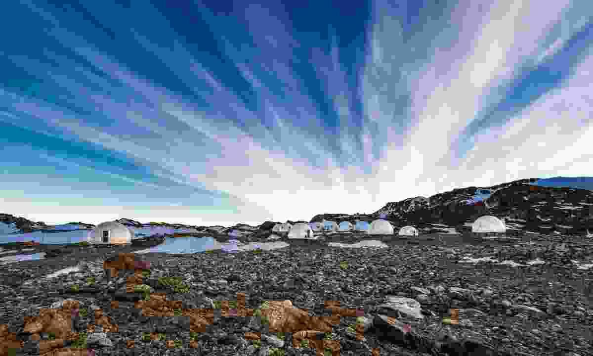 The luxury Antarctic pods of Whichaway Camp (White Desert)
