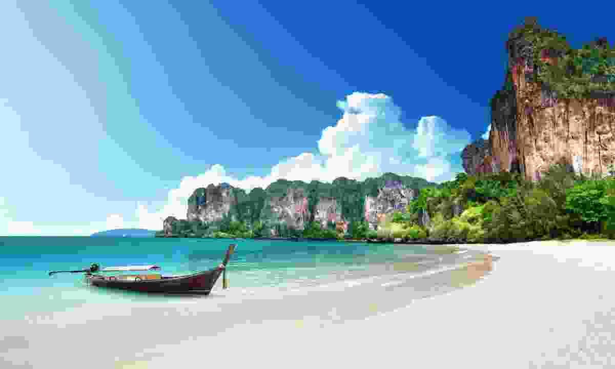 Railay Beach in Krabi (Dreamstime)