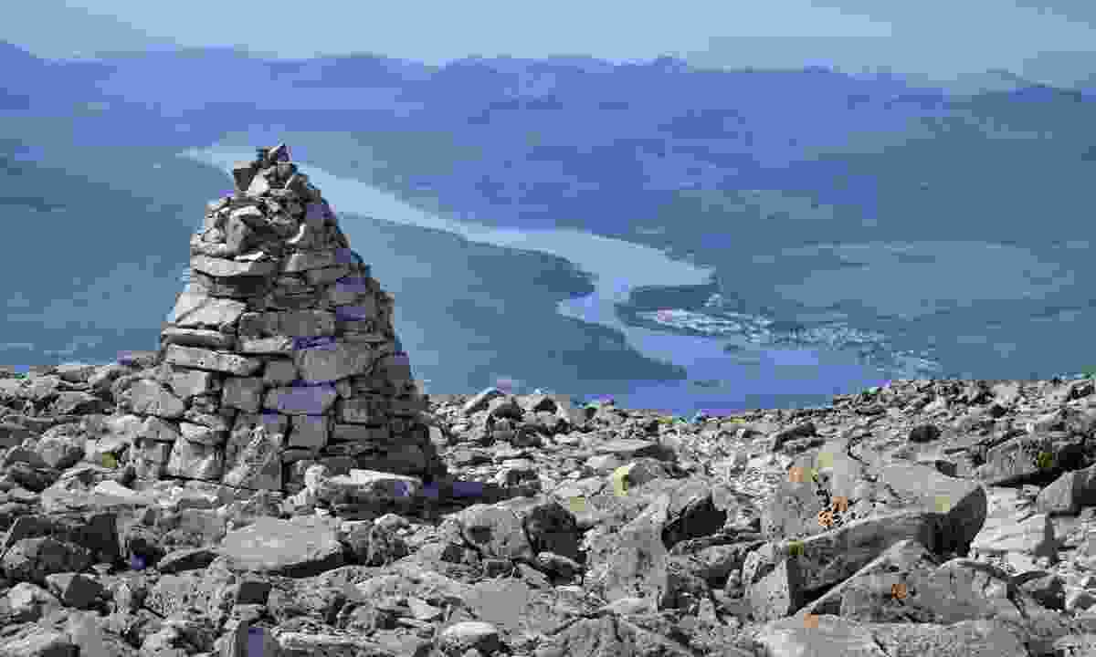 View from the top of Ben Nevis (Dreamstime)