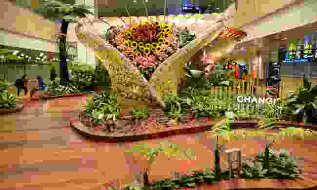 Enchanted garden at Changi Airport (Dreamstime)