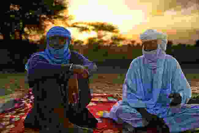 Tuaregs in Timbuktu (Shutterstock)