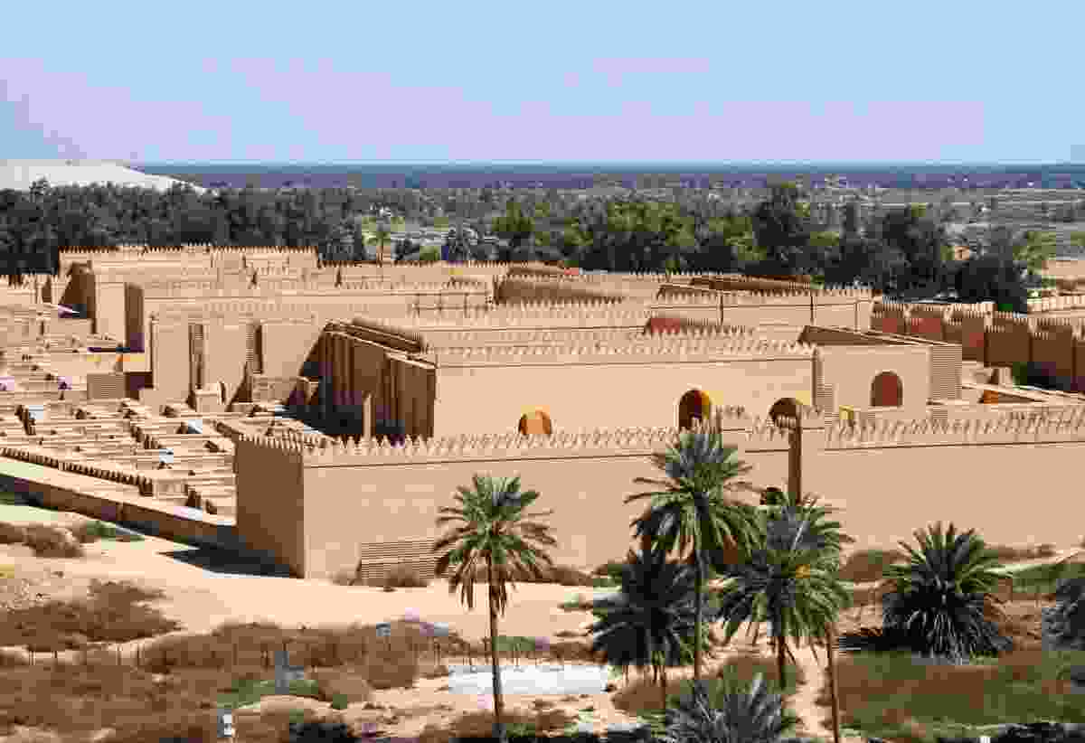 The ancient city of Babylon, Iraq (Dreamstime)