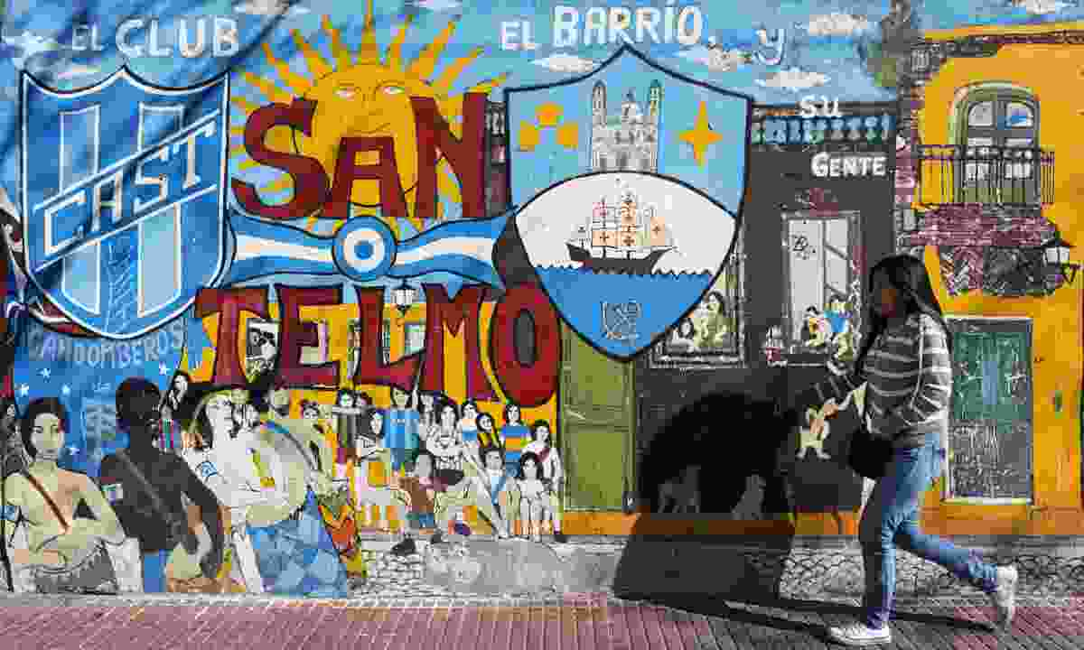 San Telmo neighbourhood (Dreamstime)