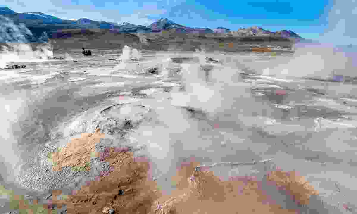El Tatio geysers in the Atacama Desert (Dreamstime)