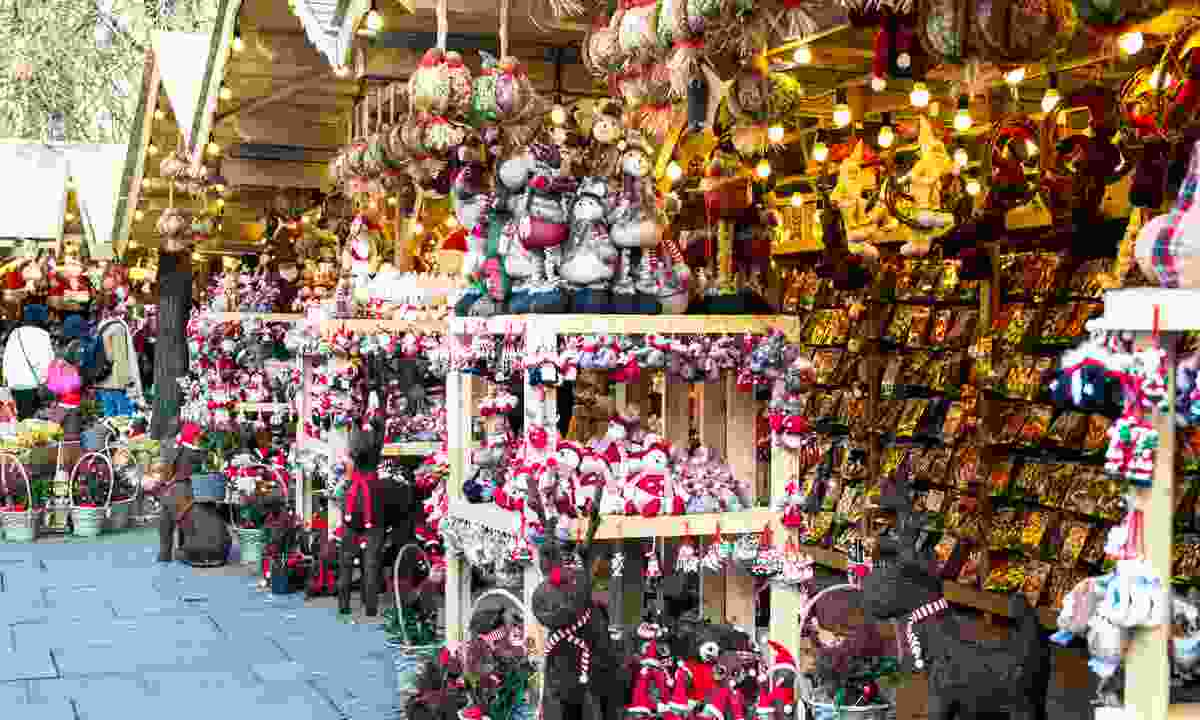 A stall at Manchester Christmas Market (Dreamstime)