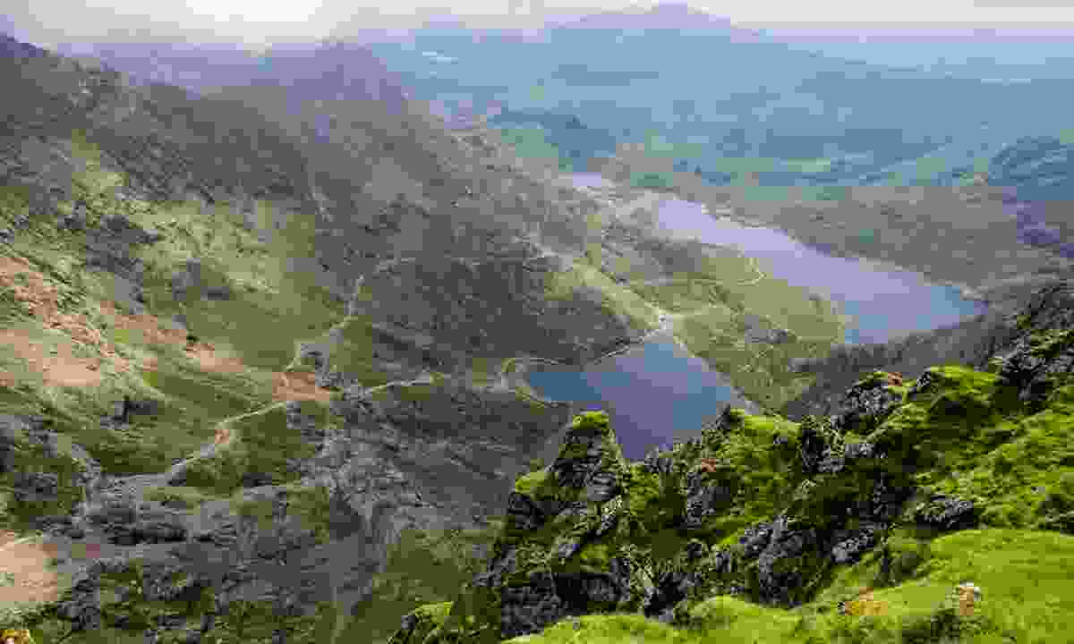 View from Mount Snowdon (Dreamstime)