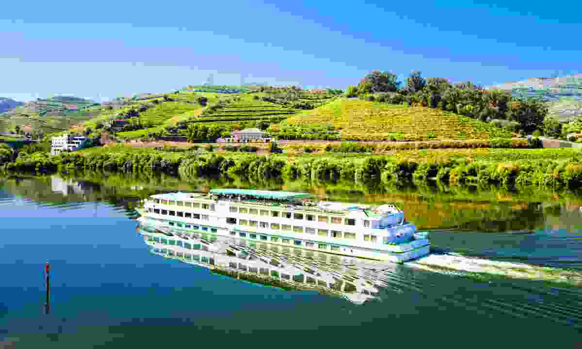 Stop off at vineyards by cruise boat (Dreamstime)