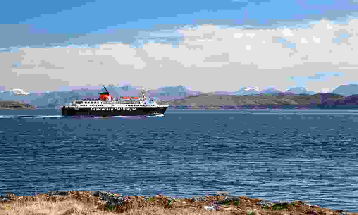 A ferry from Mull to Oban (Dreamstime)