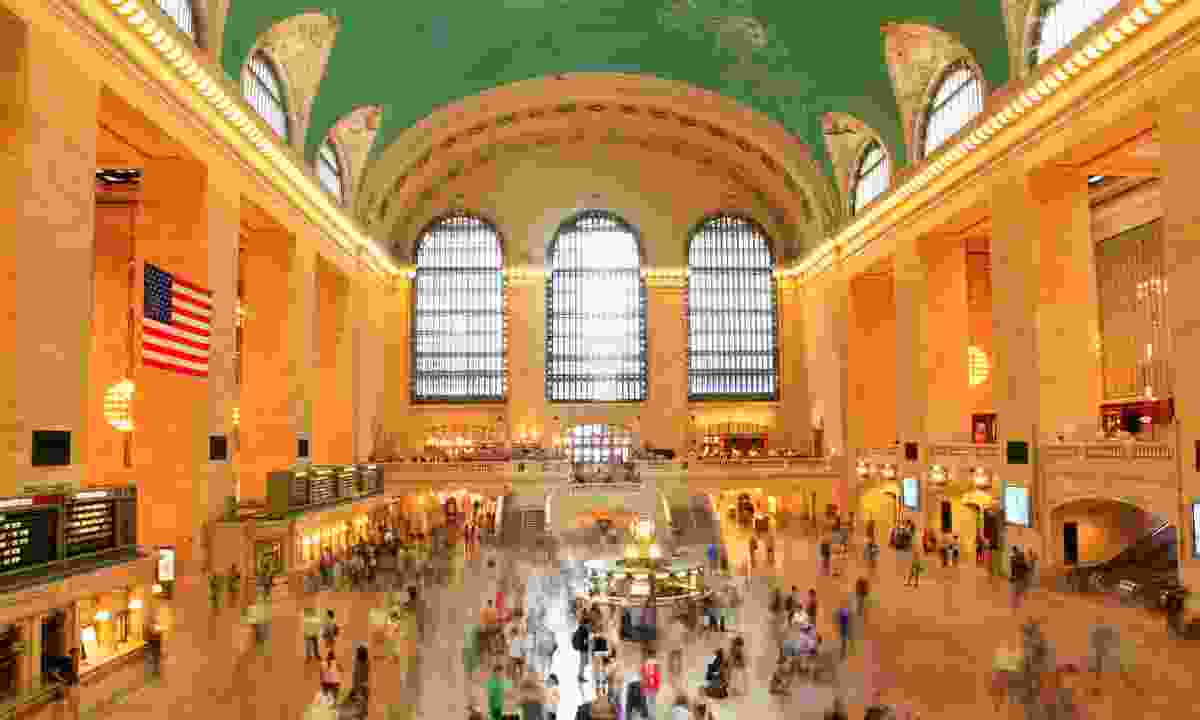 The iconic interior of New York City's Grand Central Terminal (Dreamstime)