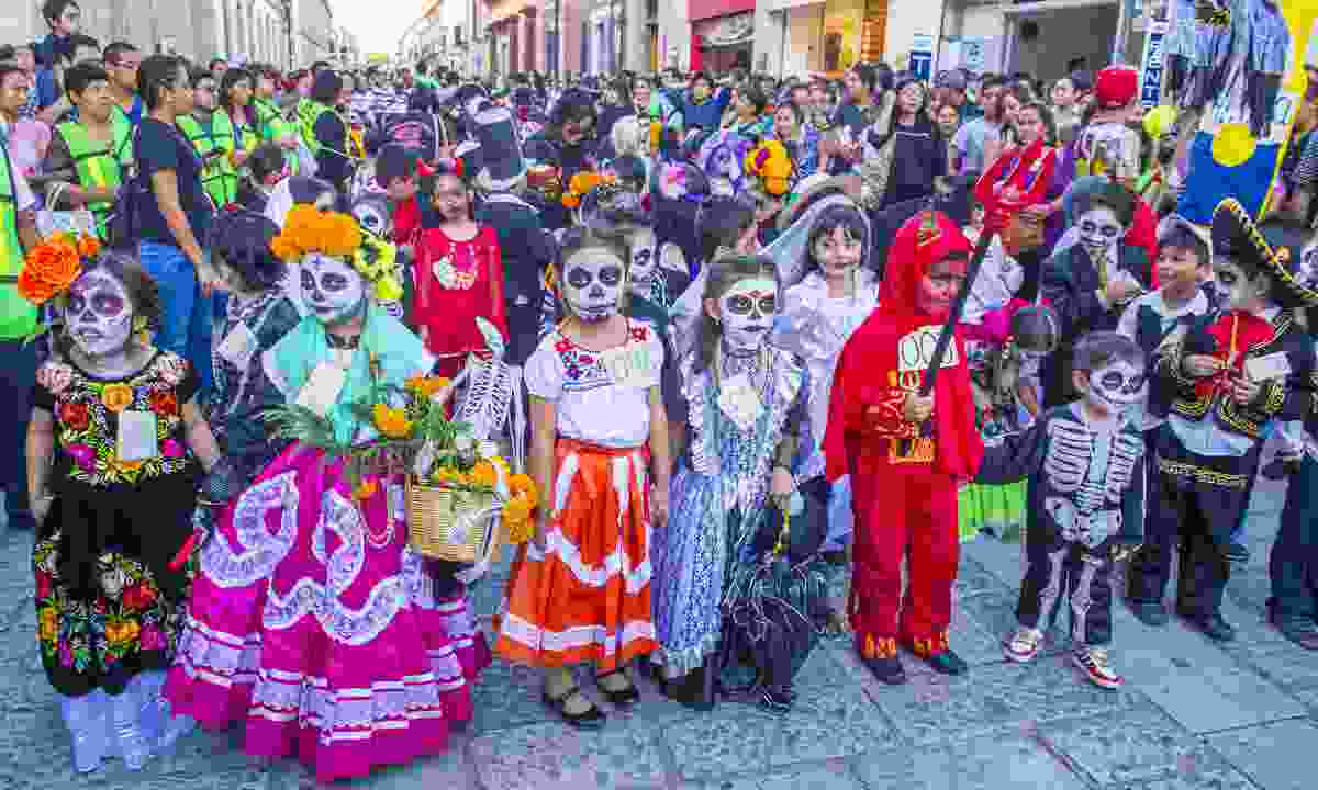 The Day of the Dead is one of the most popular holidays in Mexico (Dreamstime)