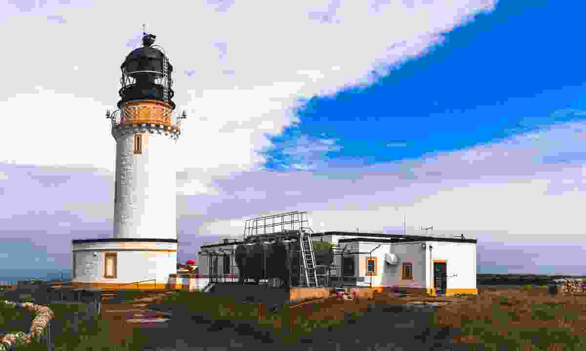 Lighthouse at Cape Wrath (Dreamstime)