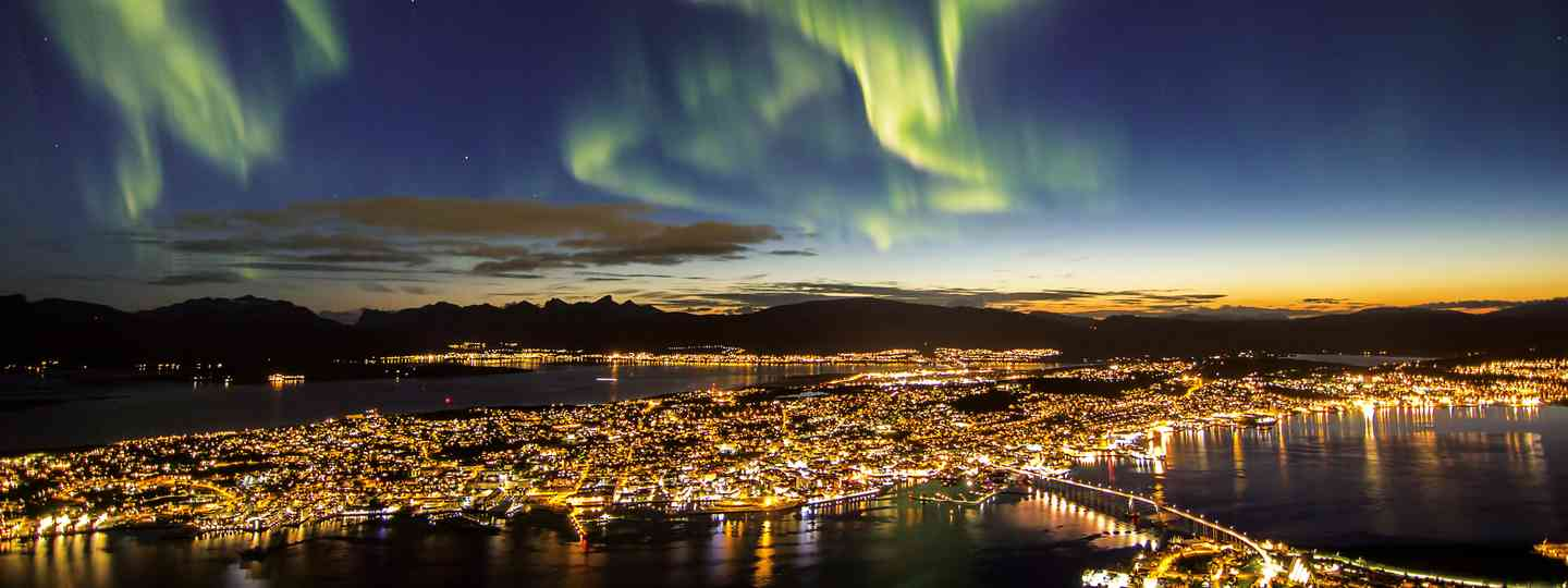 Sandwiched between fjords and icy mountains, Tromsø makes a buzzing base to explore the Arctic wilds (Dreamstime)