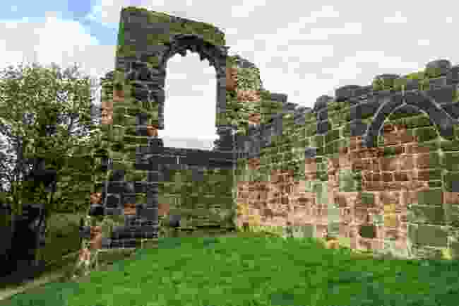 Halton Castle in the town of Runcorn (Shutterstock)