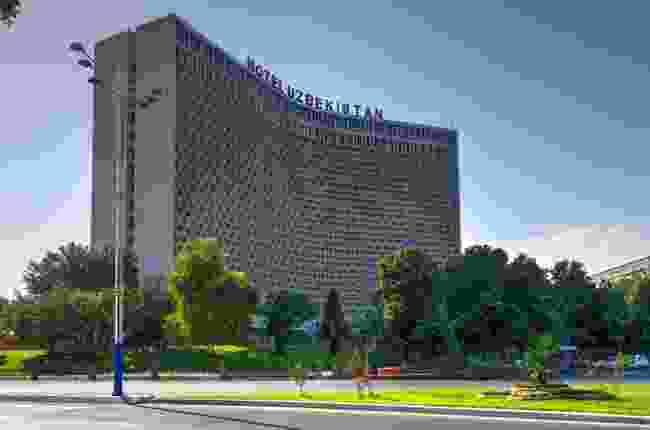 Soviet style Hotel Uzbekistan, Tashkent (Shutterstock)