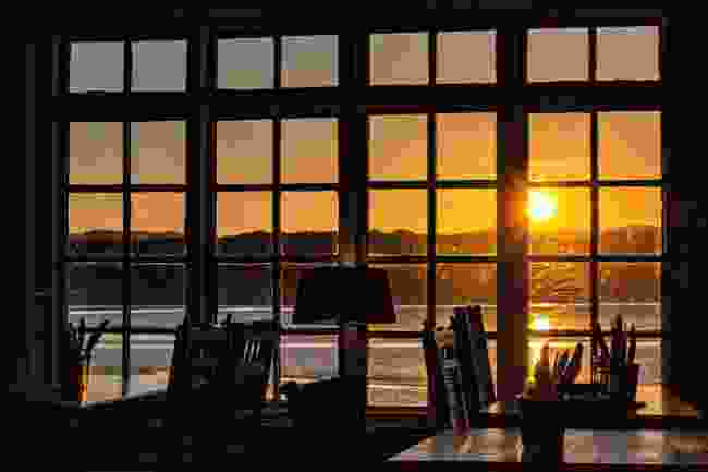 Sunset from the Albion, Arnside (Lyn Hughes)