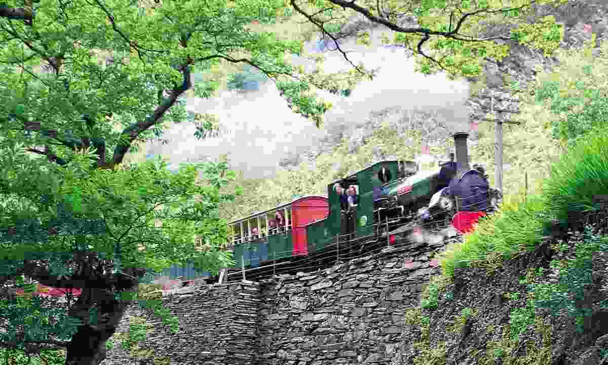 Ride a steam train through Wales (Rail Discoveries)