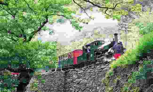 Ride a steam train through Wales (Rail Discoveries)