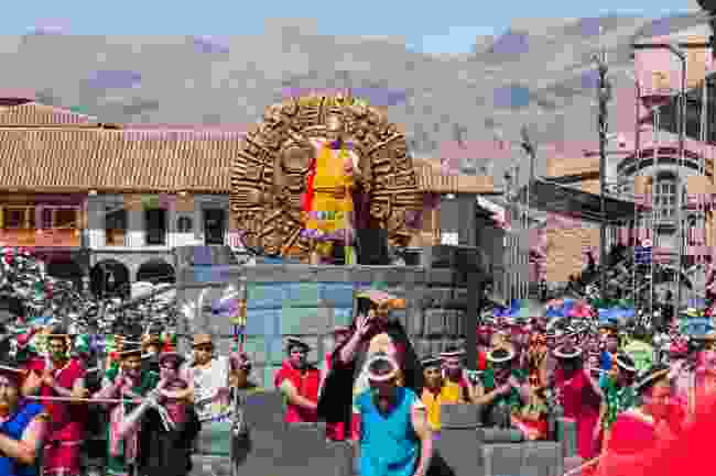 Inti Raymi Festival, Cusco, Peru (Shutterstock)