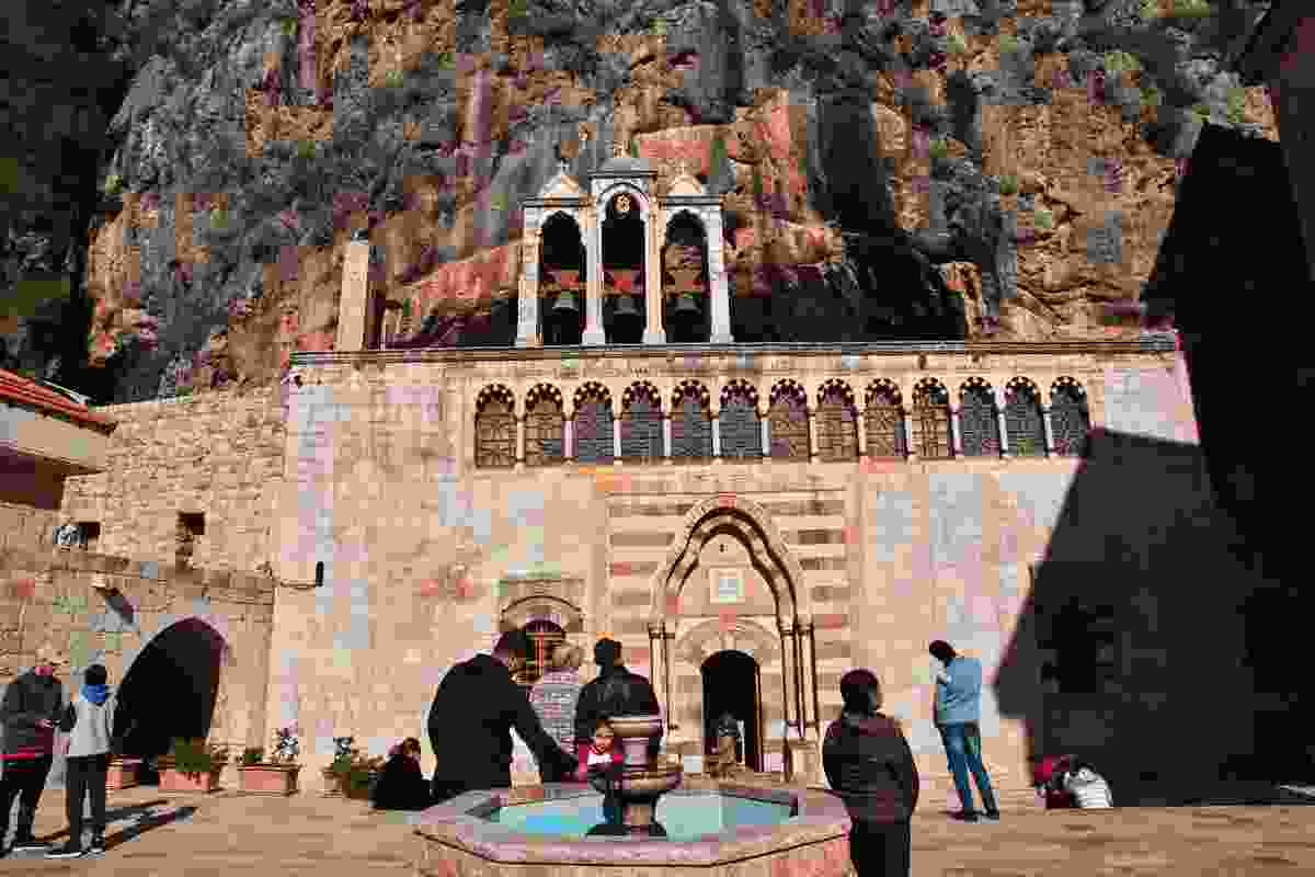 One of Kadisha's impressive monasteries (Shutterstock)