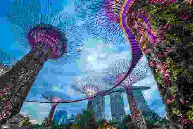Singapore city skyline (Shutterstock)
