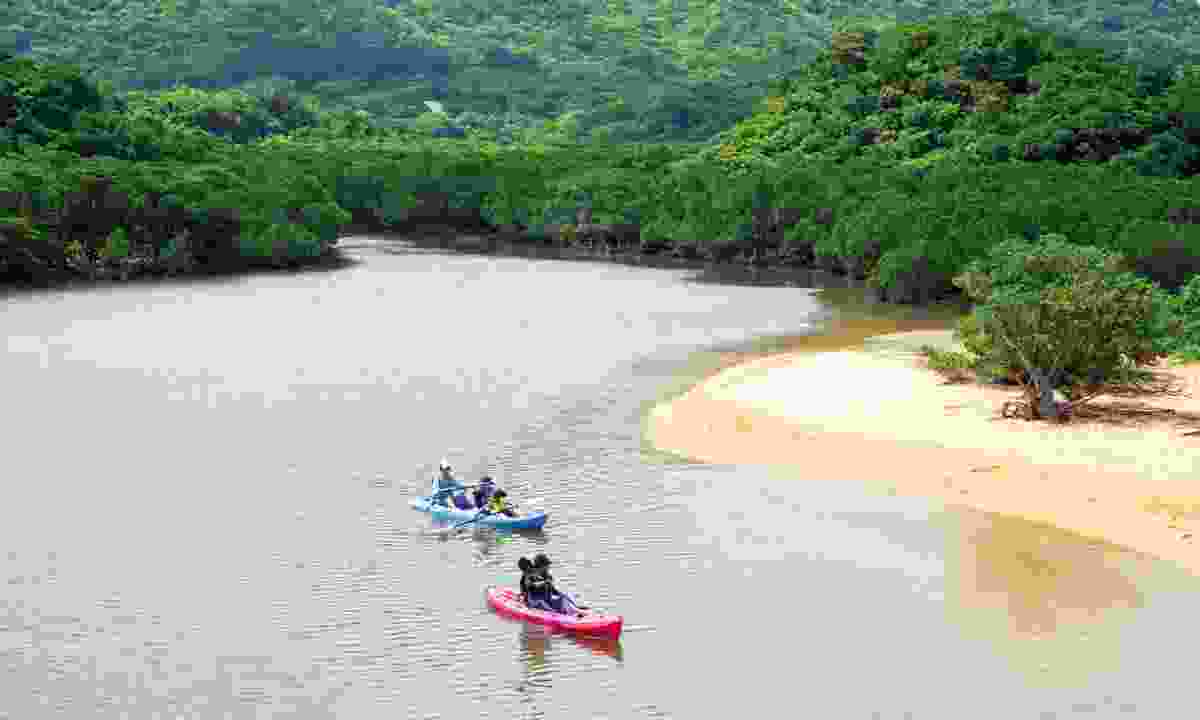 Kayaking on the Miyara River (Visit Okinawa)