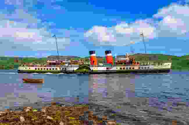 Paddle steamer Waverley is the last of its kind in the world (Shutterstock)