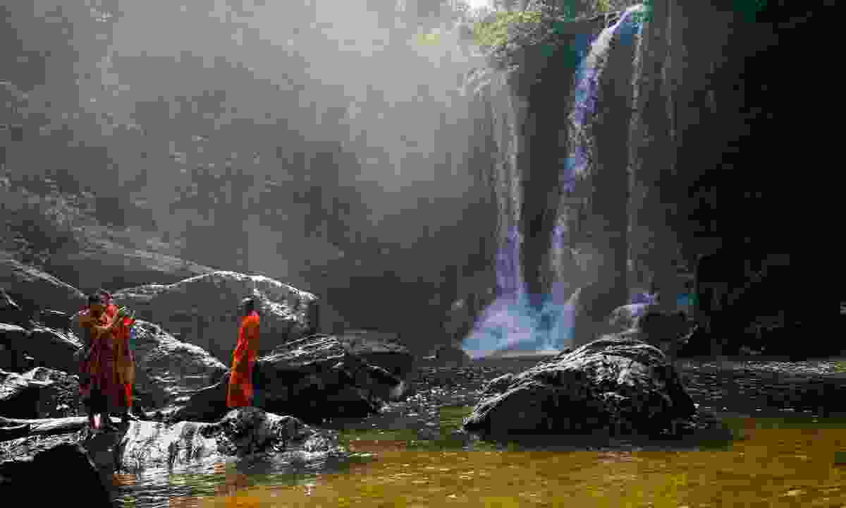The falls are a sacred site, so be respectful (Shutterstock)