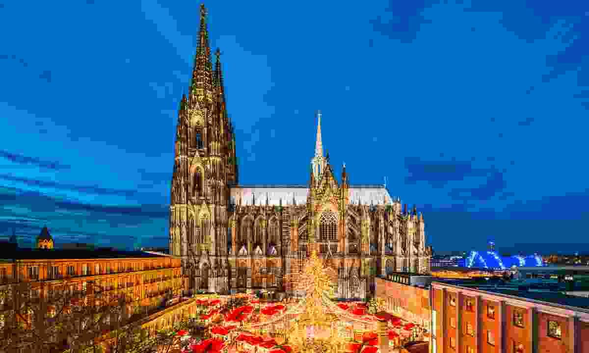 Cologne Christmas Market (Shutterstock)