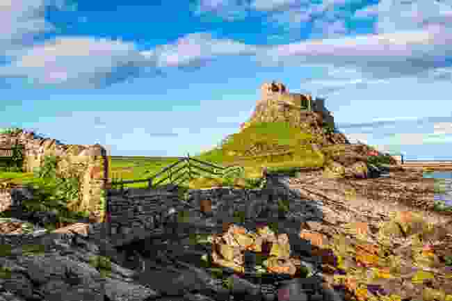 Lindisfarne Castle, Holy Island (Shutterstock)