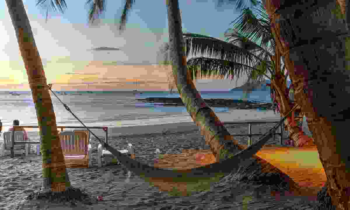 Relaxing on a beach in Costa Rica (Dreamstime)