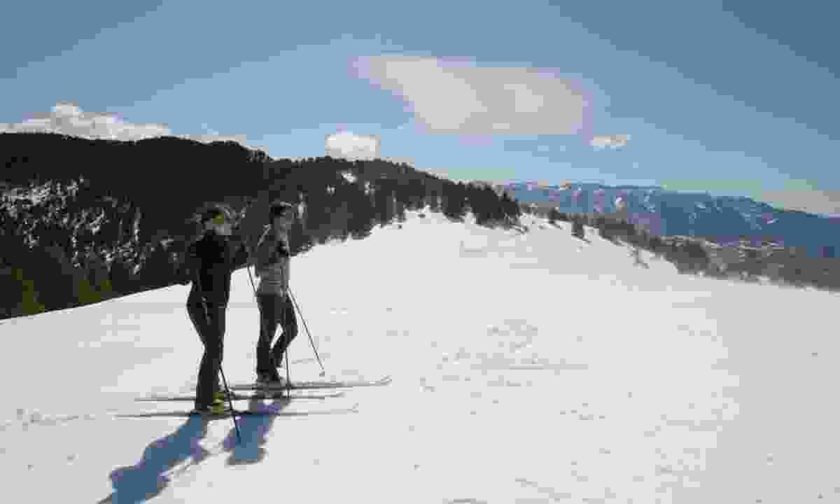 Nordic skiing in Aransa (Marisa Tartera)