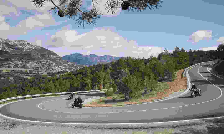 Lleida's roads were made for moturism (Oriol Clavera)