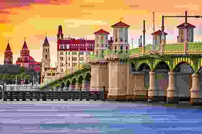 Bridge of Lions in St Augustine (Shutterstock)