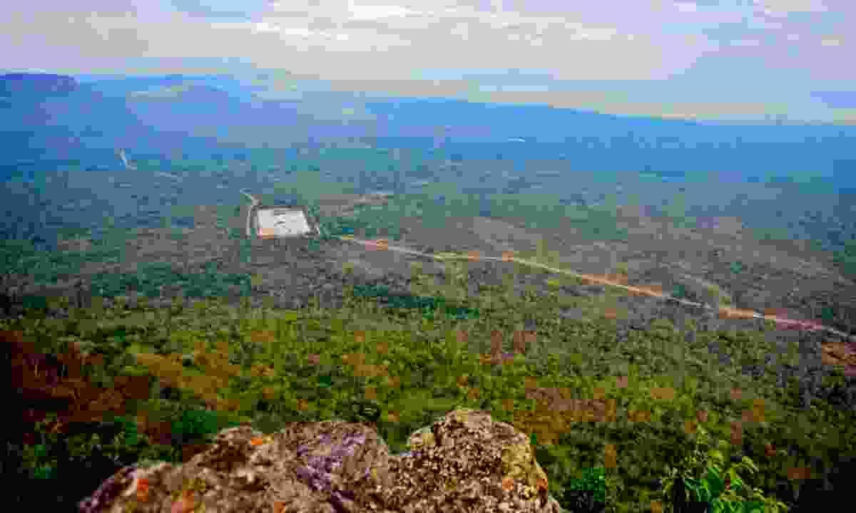 View over northern Cambodia (Mark Stratton)