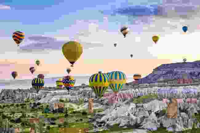 Cappadocia, Turkey (Shutterstock)