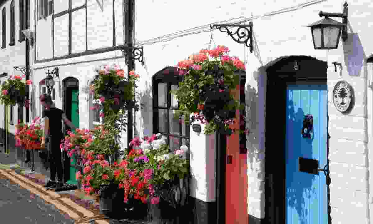 The colourful streets of Bray (Nick Smith/greatwestway.co.uk)