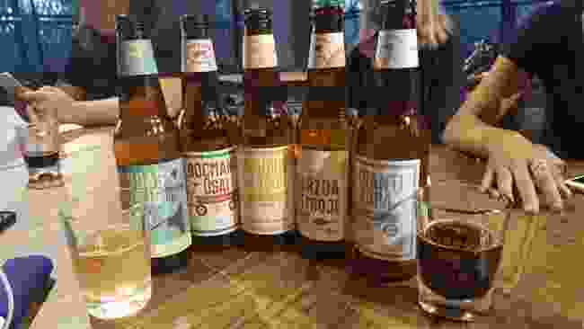 Beer tasting in Klaipeda (Kirsten Henton)