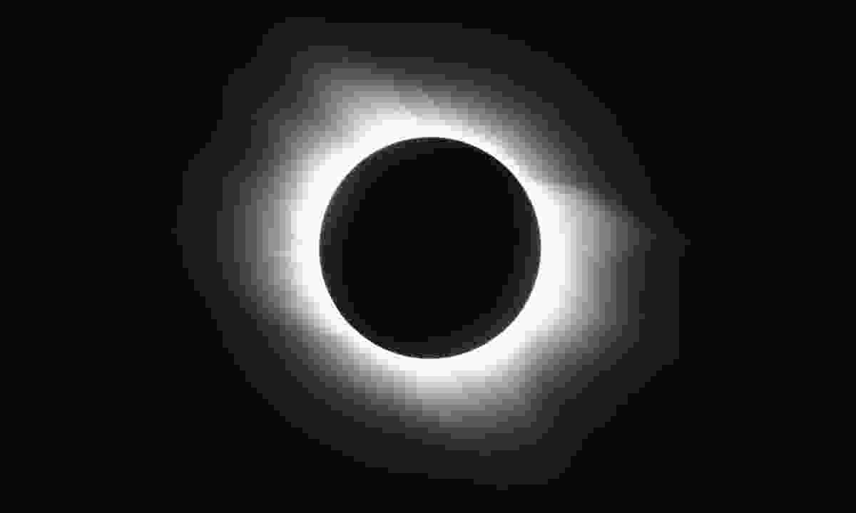 A total solar eclipse (Dreamstime)
