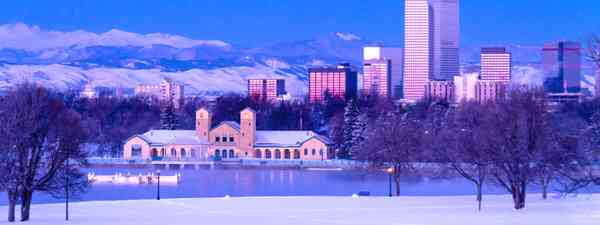Denver in winter (Dreamstime)