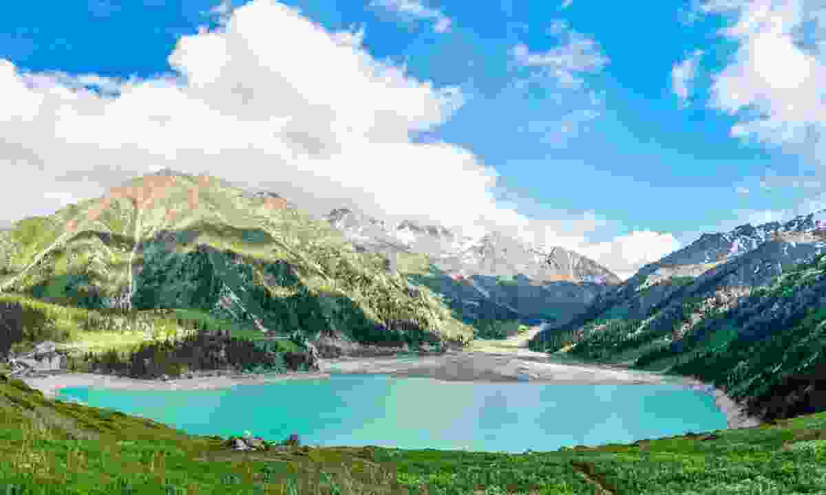 Big Almaty Lake, Tien Shan Mountains (Dreamstime)
