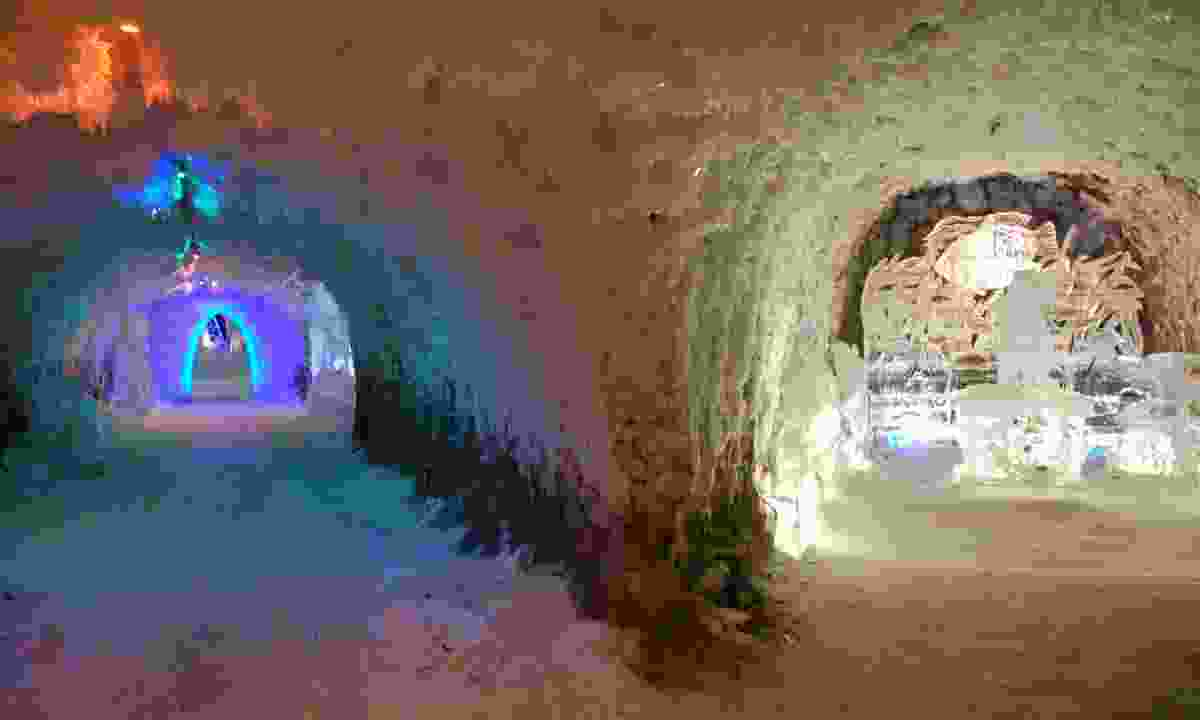 Inside the Permafrost Museum (Dreamstime)