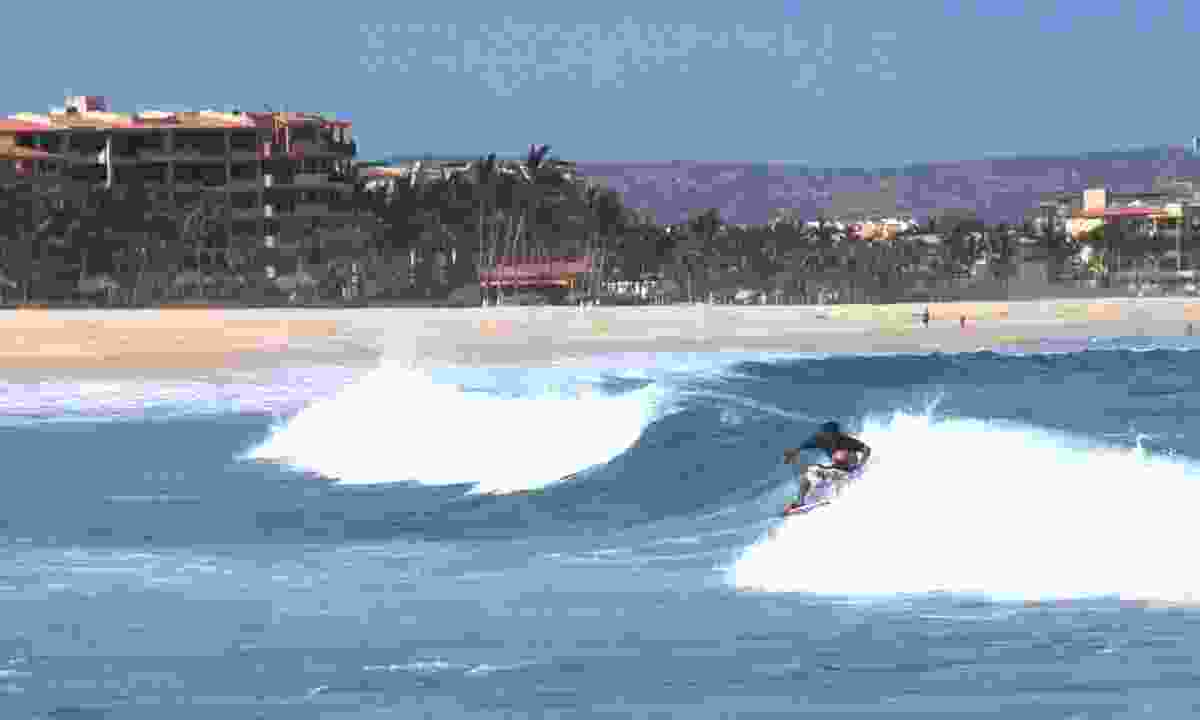 The Costa Azul surf break in Baja California (Dreamstime)